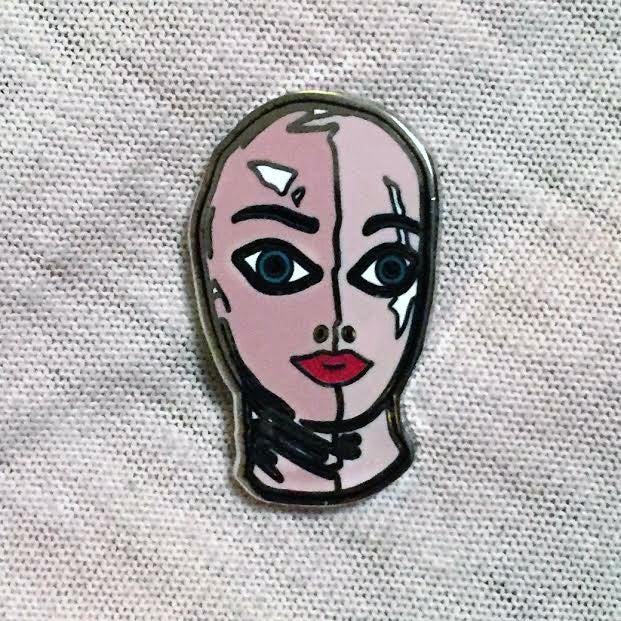 Image of LATEX MASK pin