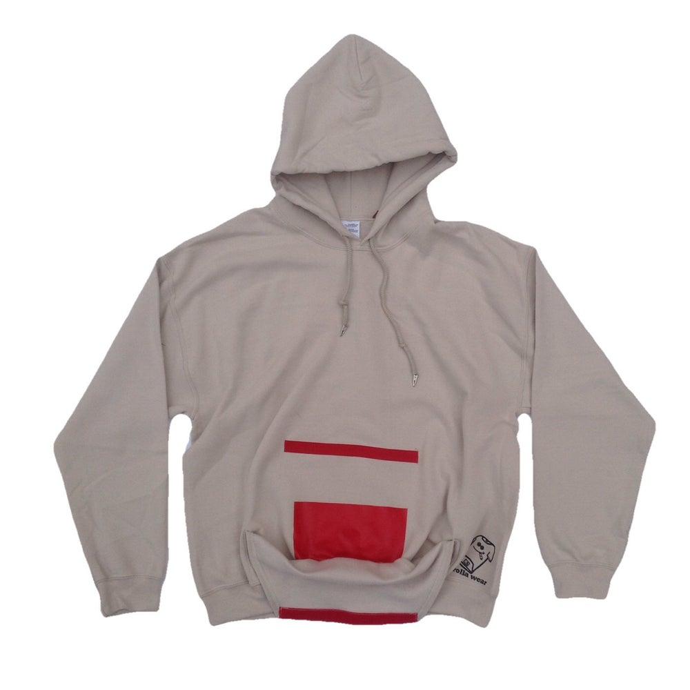 Image of Khaki Rolla Wear Hoodie