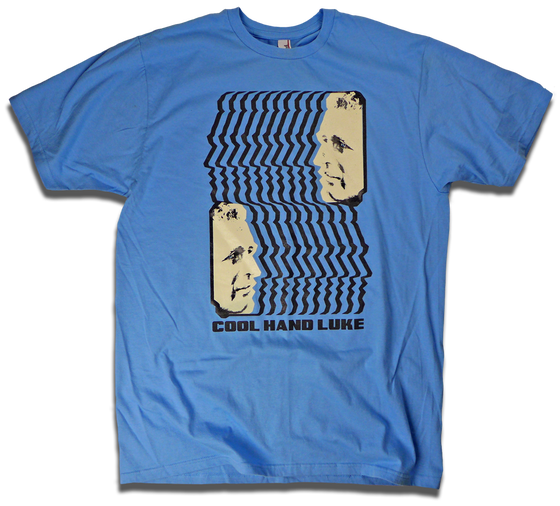 """Image of """"Lucas Jackson, Inmate 37"""" Cool Hand Luke tee by Backpage Press"""