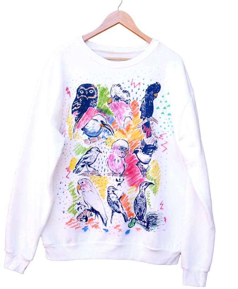 Image of Australian Birds Sweater