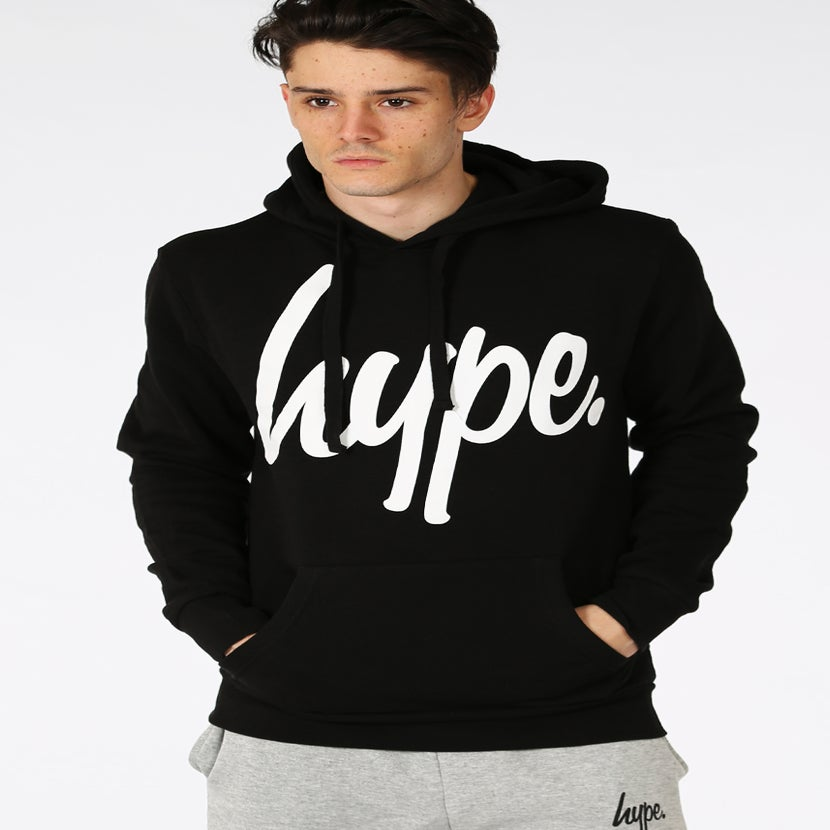 Image of HYPE.SCRIPT BLACK (PULL-OVER)