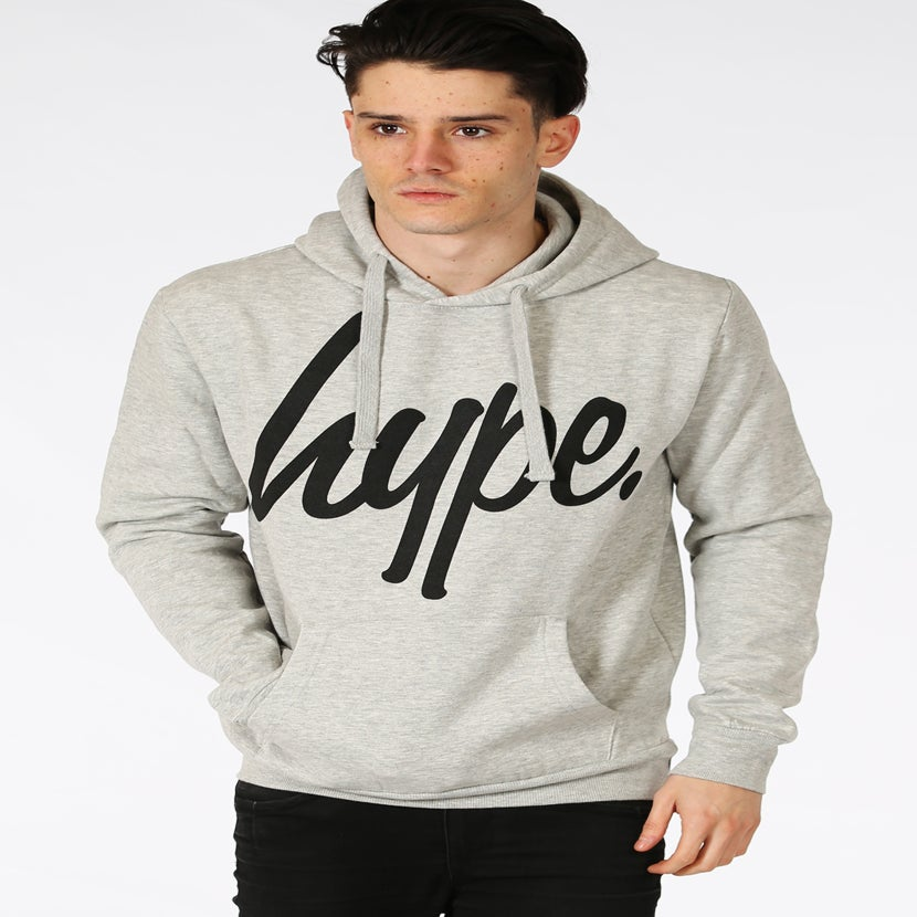Image of HYPE.PULLOVER HOODIE GREY