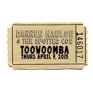 Image of Darren Hanlon - TOOWOOMBA - THURSDAY 9th APRIL - $15 + $2 booking fee