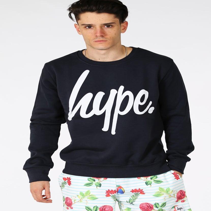 Image of HYPE.NAVY SCRIPT CREW