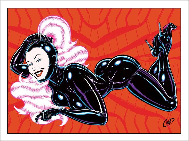 Image of Rubber Girl #1 Silkscreen Print