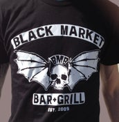 Image of Black Market Skull Wings-Unisex Shirt