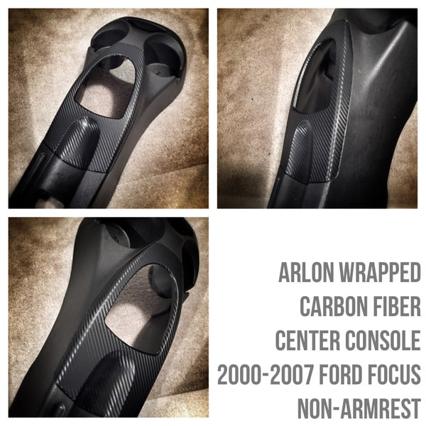 Image of Ford Focus 2000-2007 Carbon Fiber Center Console (or other finishes)