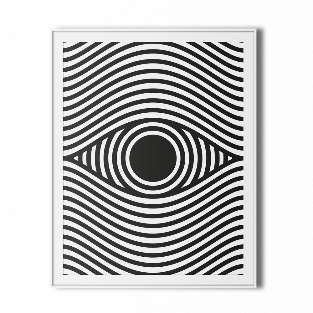Image of eye op art