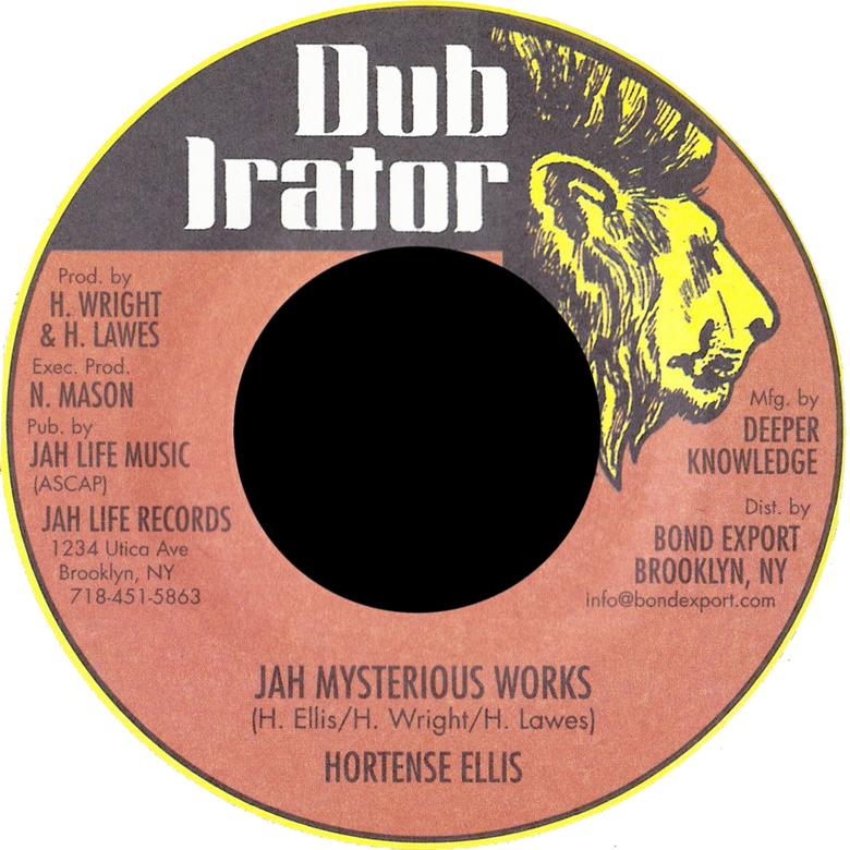 "Image of Hortense Ellis - Jah Mysterious Works 7"" (Dub Irator)"
