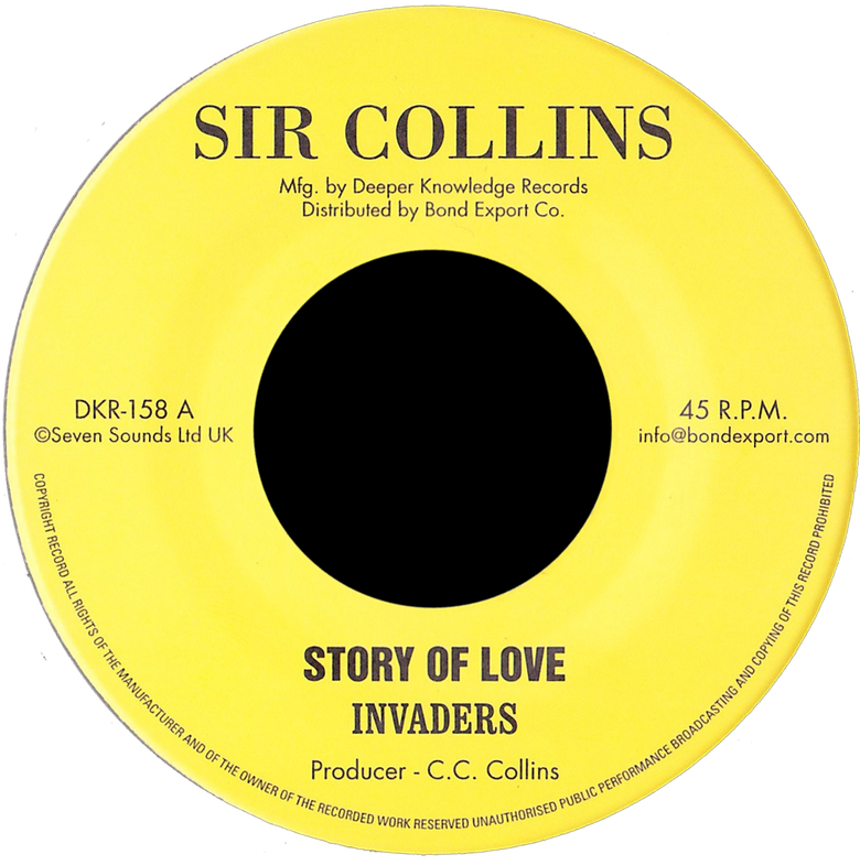 "Image of Invaders - Story of Love / Holy Mountain 7"" (Sir Collins)"