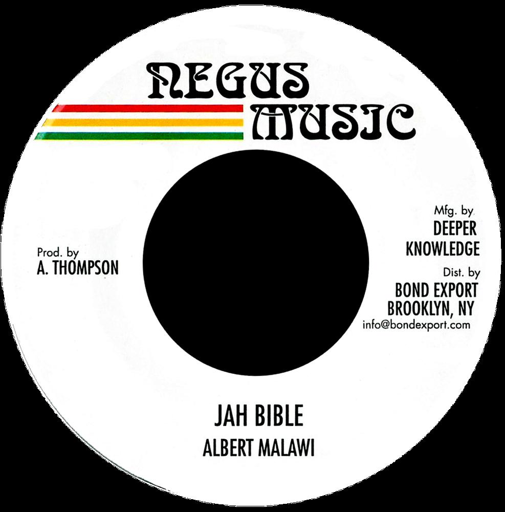 """Image of Albert Malawi - Jah Bible 7"""" (Negus Music)"""