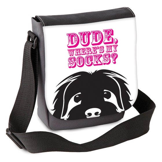 Image of Dude, Where's My Socks? Mini Shoulder Bag