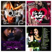 Image of ***VALENTINES DAY COMBO PACK*** FOR THE LOVER IN YOU MIX (SEX SONGS) VOL. 1-4