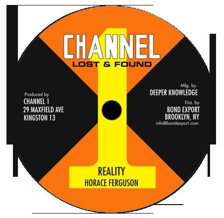 "Image of Horace Ferguson - Reality / Youthman 10"" (Channel 1)"