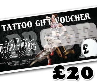 £20 Gift Voucher - Tribal Images