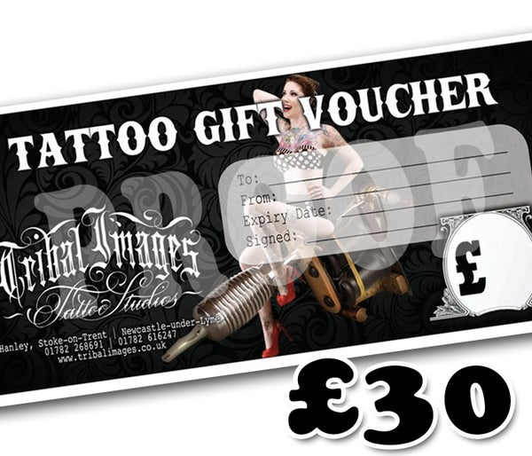 £30 Gift Voucher - Tribal Images