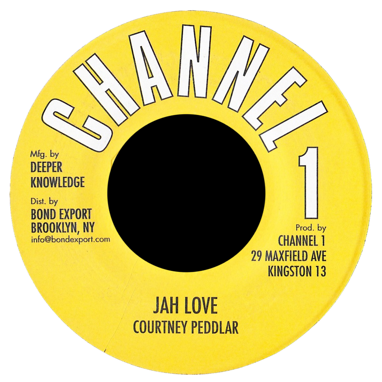 "Image of Courtney Peddlar - Jah Love 7"" (Channel 1)"