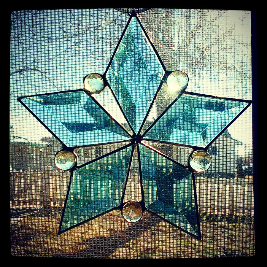Image of Winter Solstice-stained glass