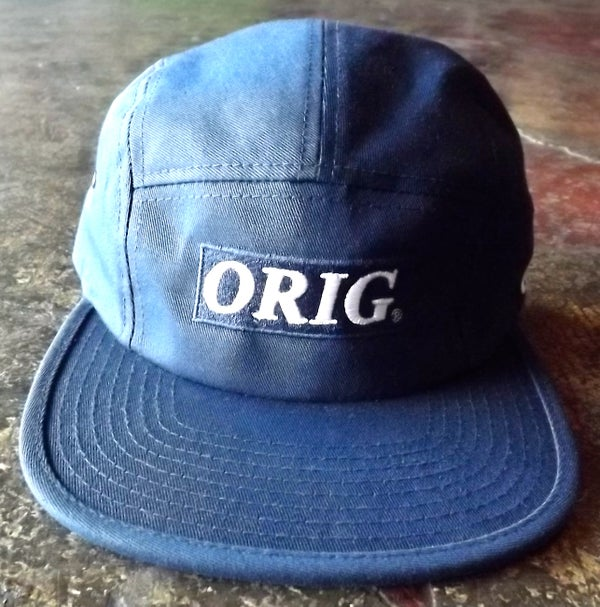 Image of ORIG BOX-LOGO 5 PANEL (NAVY)
