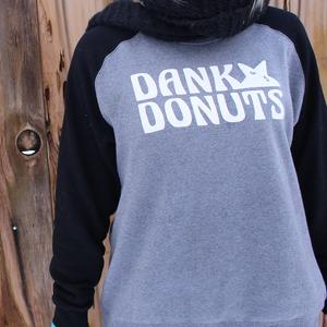 Image of Dank Donuts Raglan Sweatshirt