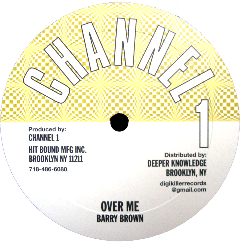 "Image of Barry Brown / Angela Prince - Over Me / Joker Lover 10"" (Channel 1)"