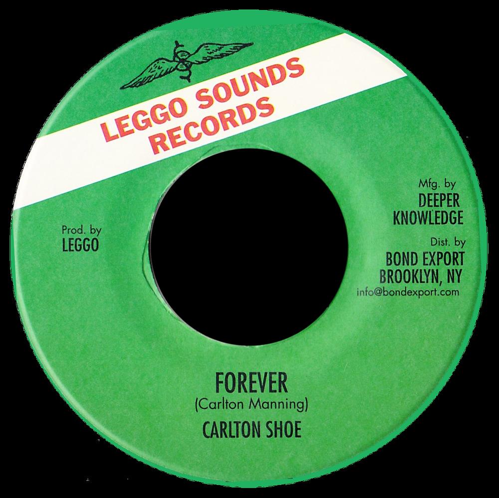 "Image of Carlton Shoe - Forever 7"" (Leggo Sounds)"