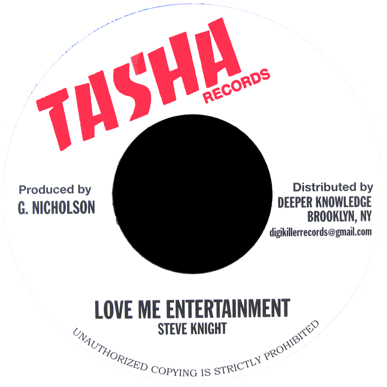"Image of Steve Knight - Love Me Entertainment 7"" (Tasha)"