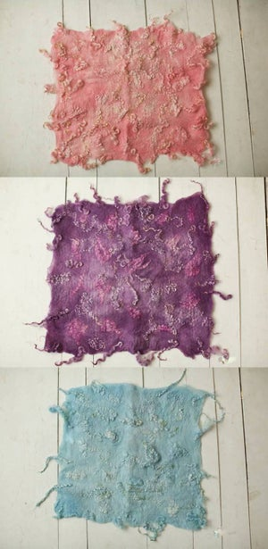 Image of Ababa Curly Felted Blanket