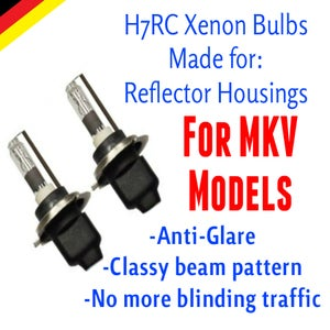 Image of H7rc Xenon HID Kit fits: Volkswagen MKV