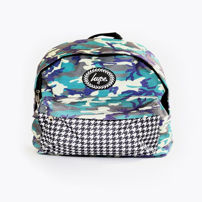 Image of HYPE.CAMO DOGTOOTH BACKPACK