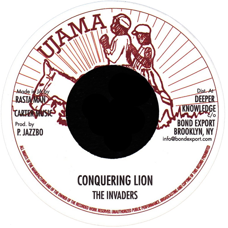 "Image of Invaders - Conquering Lion 7"" (Ujama)"