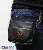 Image of NEW! Hipster Bag (Orange Icon) » Converts to Cross-Shoulder Bag BC#106013 SAVE 10%