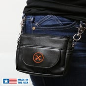 Image of NEW! Hipster Bag (Orange Icon) » Converts to Cross-Shoulder Bag BC#106013