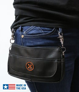 Image of NEW! Hipster II Bag (Orange Icon) » Converts to Cross-Shoulder Bag BC#106015