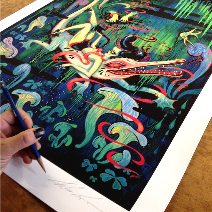 "Image of ""The Ghost of G Sharp 7"" limited edition print"