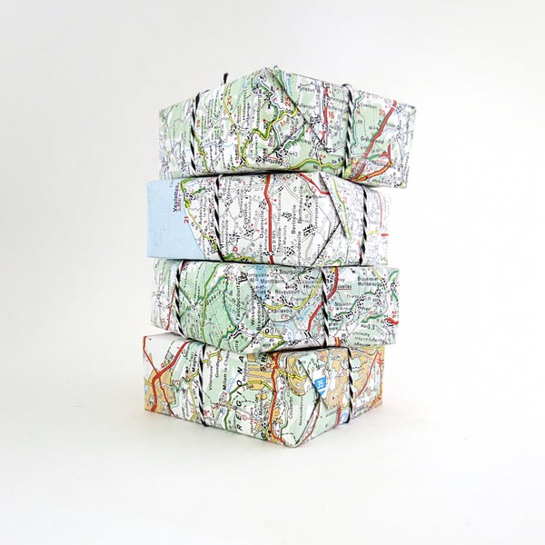 Image of French Map - Set of 4 Soaps