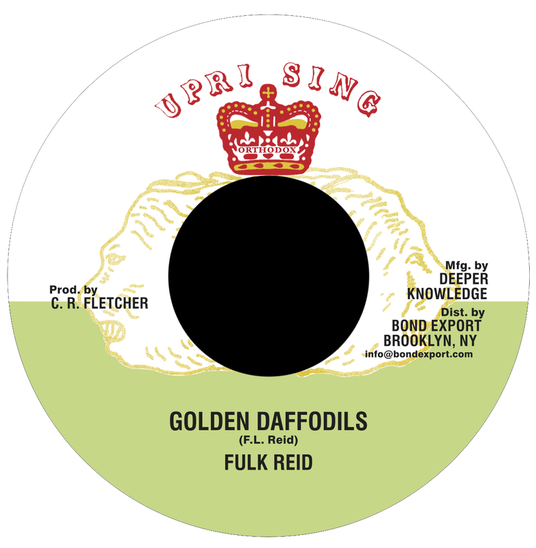 "Image of Fulk Reid - Golden Daffodils 7"" (Uprising)"