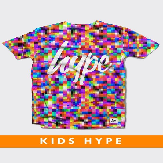 Image of HYPE KIDS. PIXEL TSHIRT