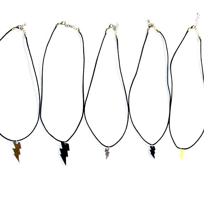 Image of Chasm Necklace - LIGHTENING BOLT |NOTS|