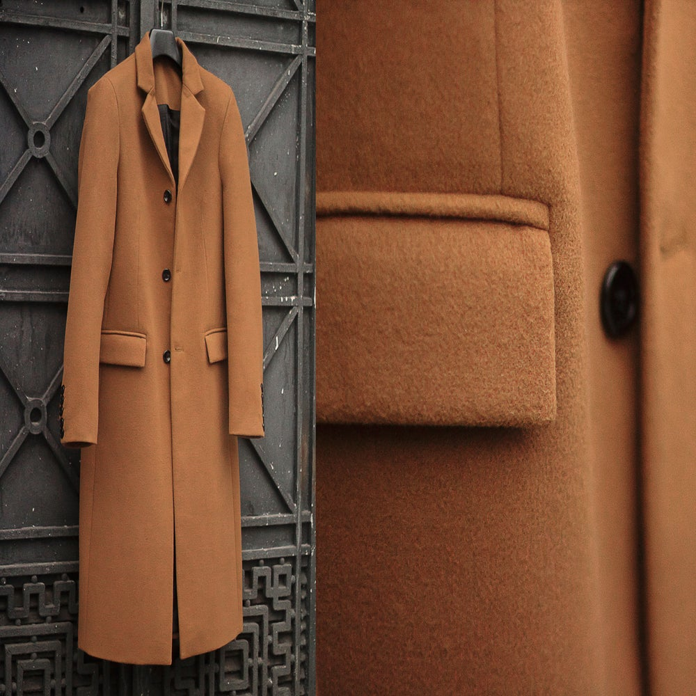Image of Terracotta One Board Coat Limited Edition