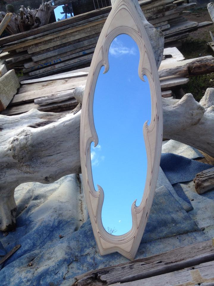 Image of Eternal Wave Surf Mirror