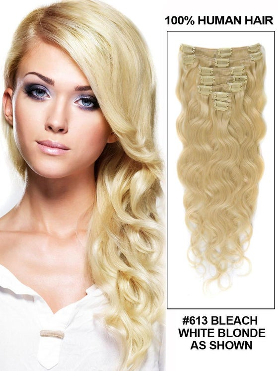 Image of Remy Human Hair Clip Ins