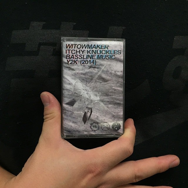 Image of WITOWMAKER ITCHY KNUCKLES BASSLINE MUSIC Y2K CASSETTE
