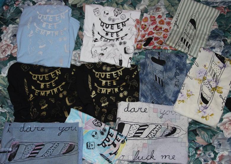 Image of misprinted items