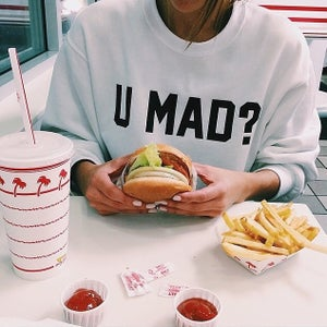 Image of U MAD? sweatshirt