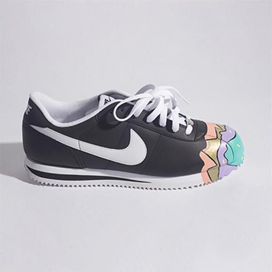 Image of Nike Cortez Crème Custom