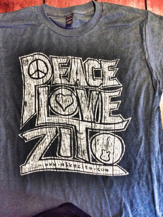 Image of NEW - Peace, Love, Zito 2015 Shirts!