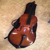 Image of Cremona SC-100 Premier Novice Cello, Full-Size 4/4