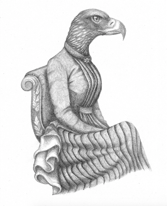 Image of Lady Celeritas Print