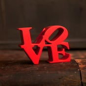 Image of Red Love Ornament